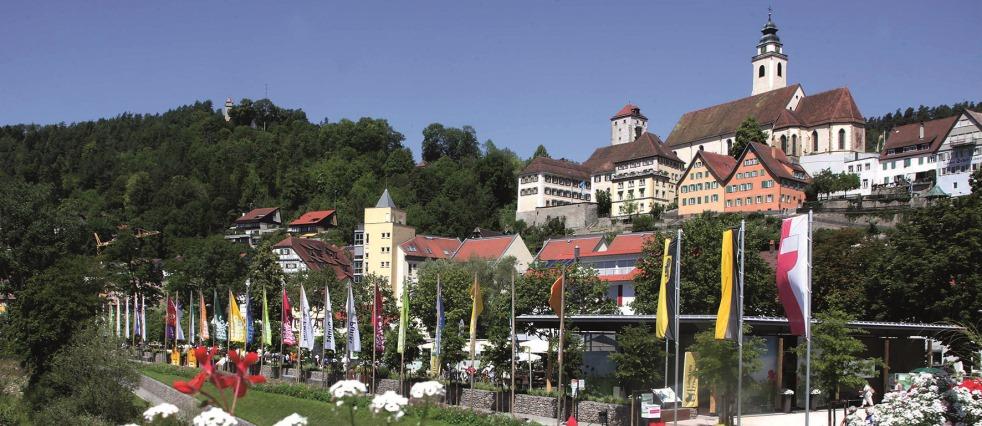 Horb Stadtsilhouette