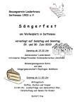 Sängerfest Dettensee
