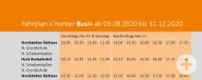Horber Busle Fahrplan