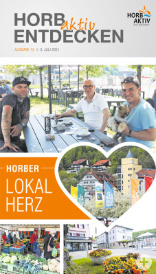 13. Ausgabe Horb aktiv entdecken